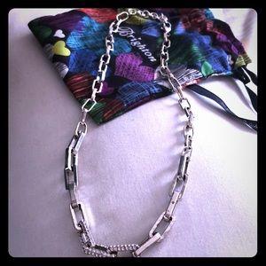 Brighton Silver Link Necklace